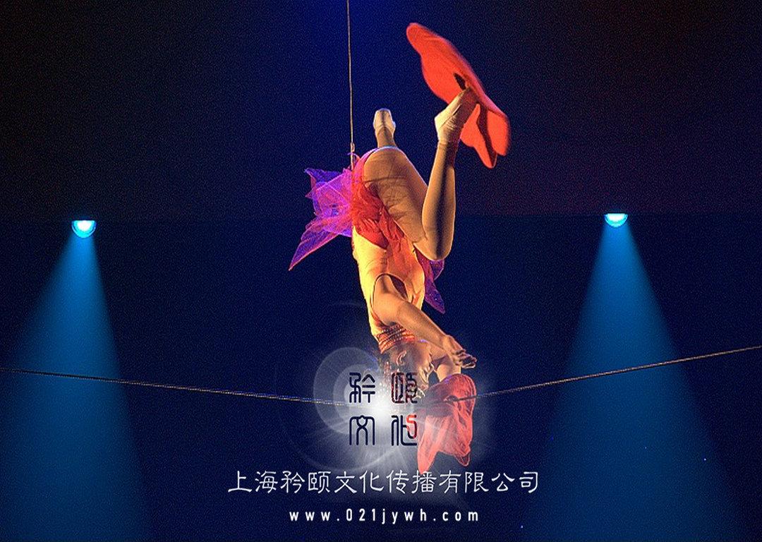 上海走钢丝表演