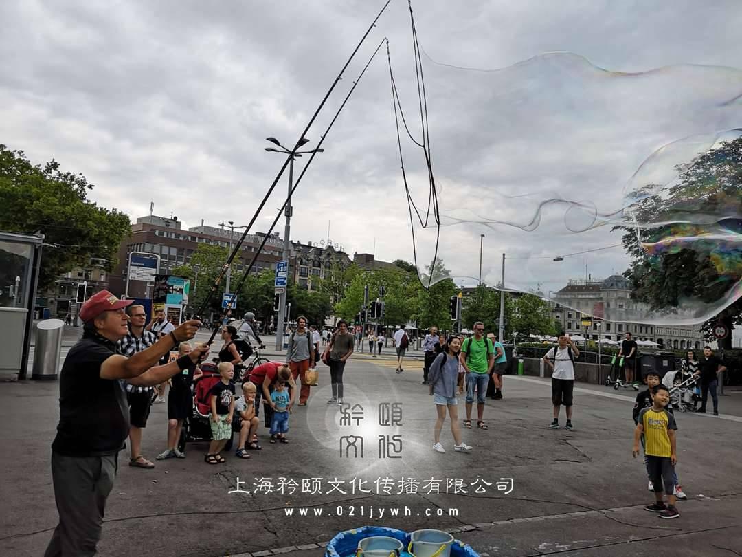 上海泡泡秀表演