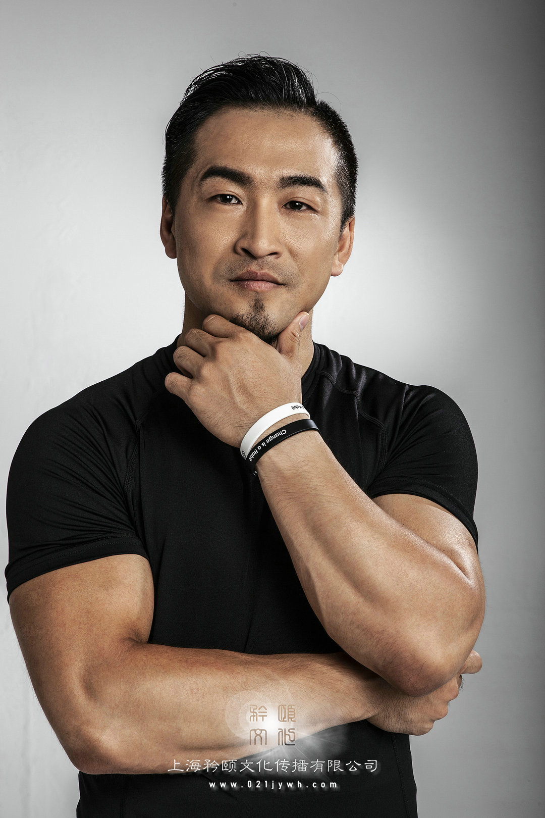 上海健身男模