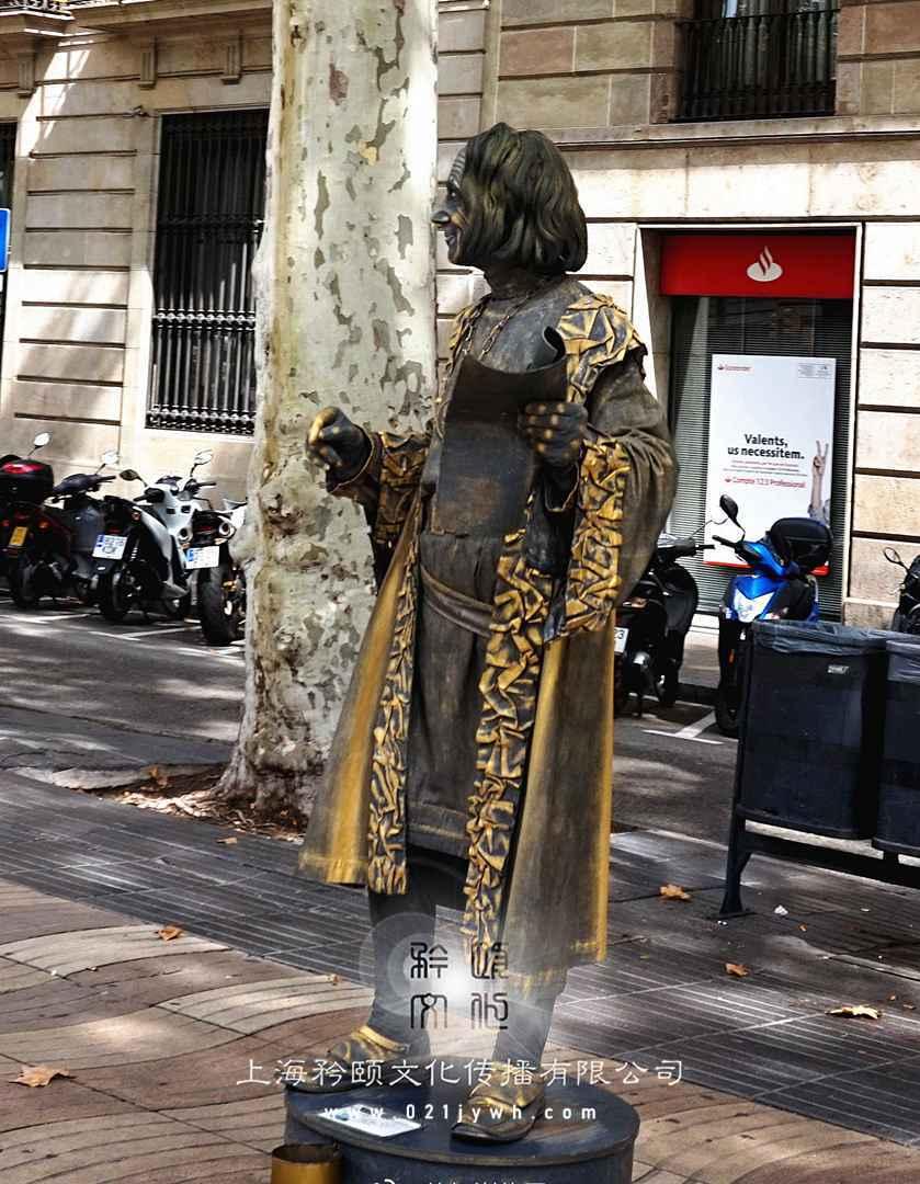 上海外籍人体雕塑