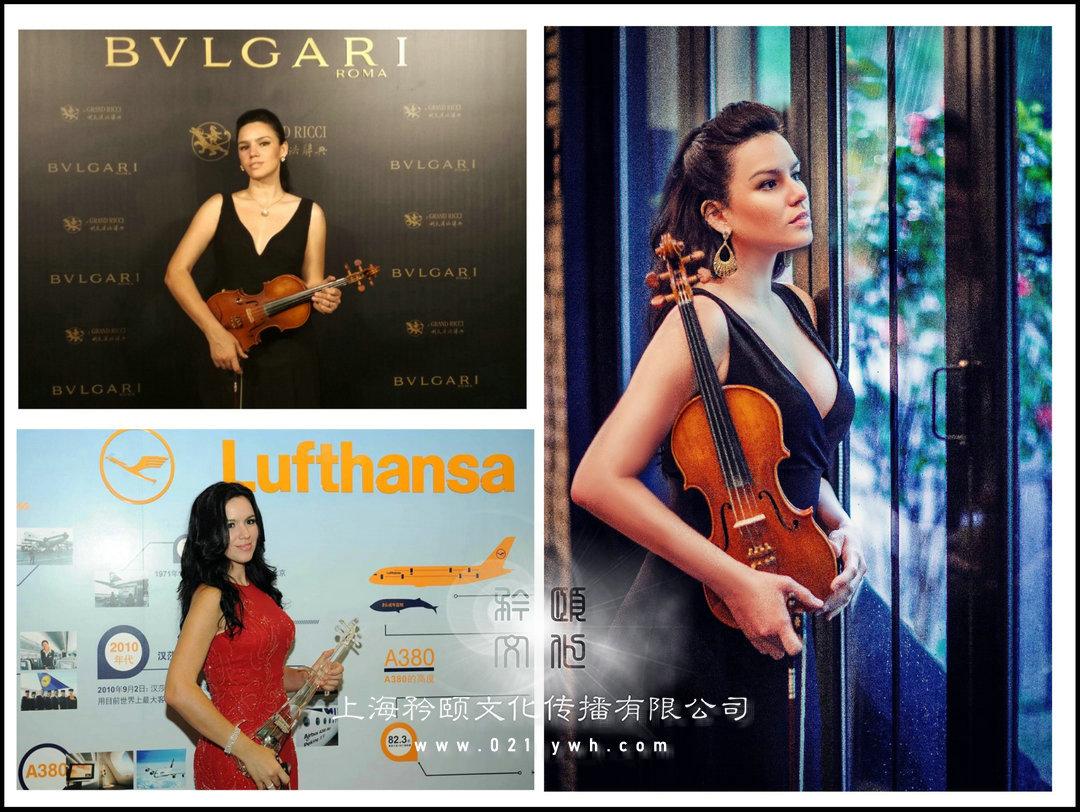 上海外籍小提琴表演
