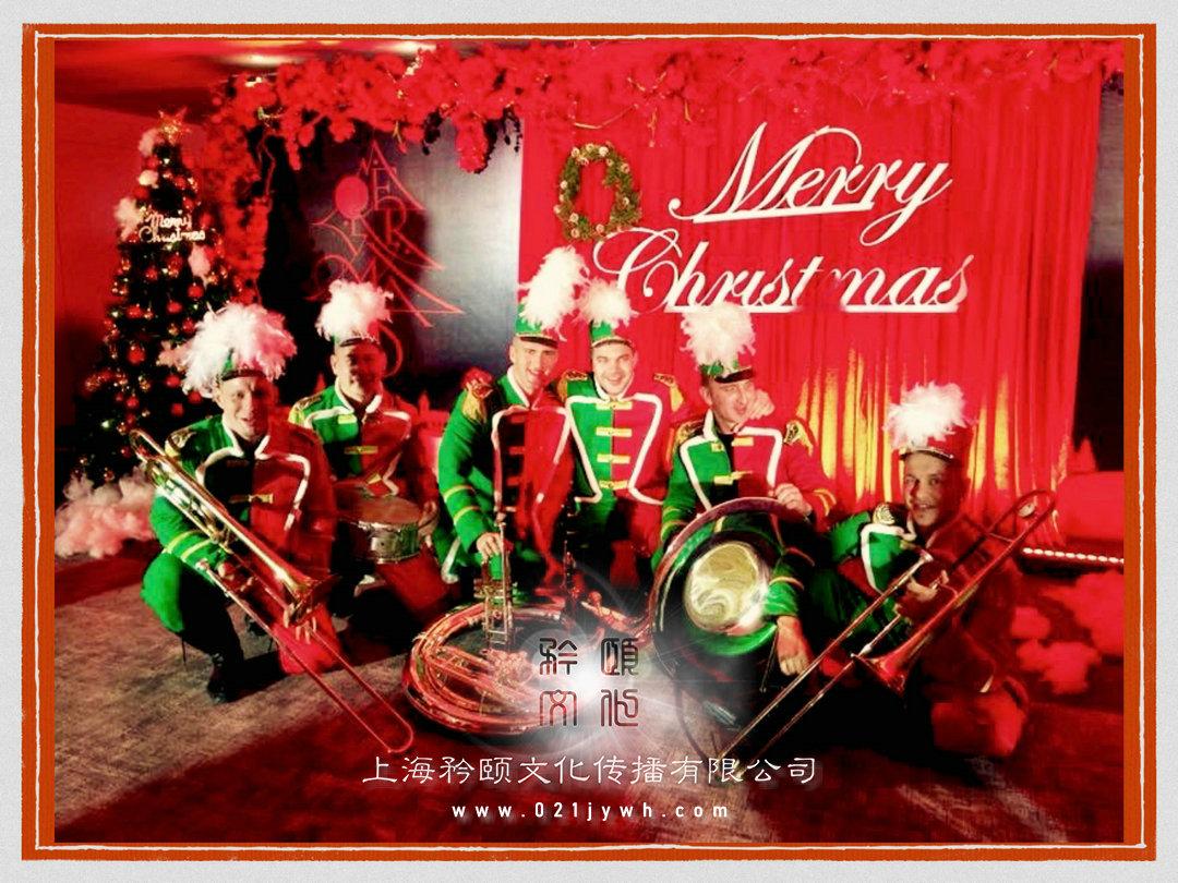 圣诞节外籍表演乐队